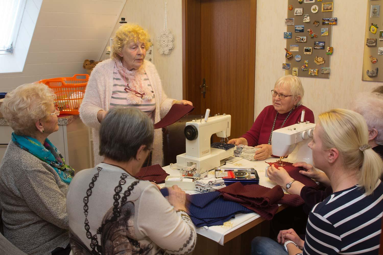Die Couragierten; Senioren; Borkheide; Rose Mandler