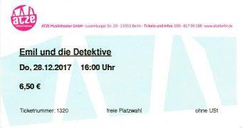Emil und die Detektive Ticket 1