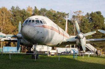 Hans-Grade-Museum Borkheide in einer IL 18