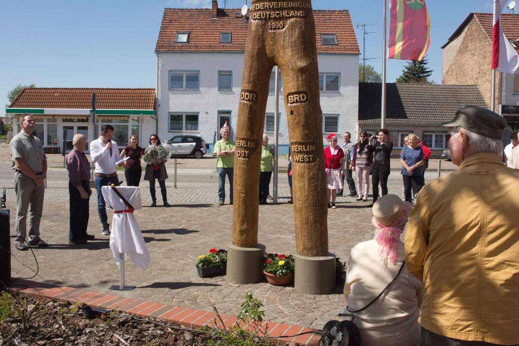 Baum der Einheit, Frühlingsfest im Amt Brück