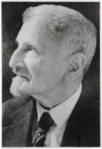 Porträt von Georg Rothgießer um 1930