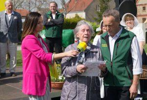 Die Zauchwitzer Bürgermeisterin Ellen Wisniewski