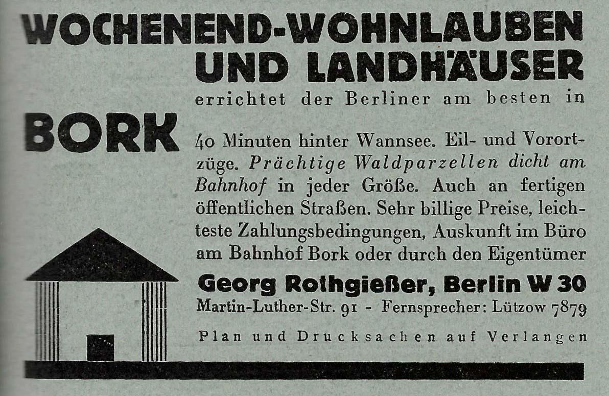 Werbeanzeige aus dem Buch SOS des Kraftfahrers 1926