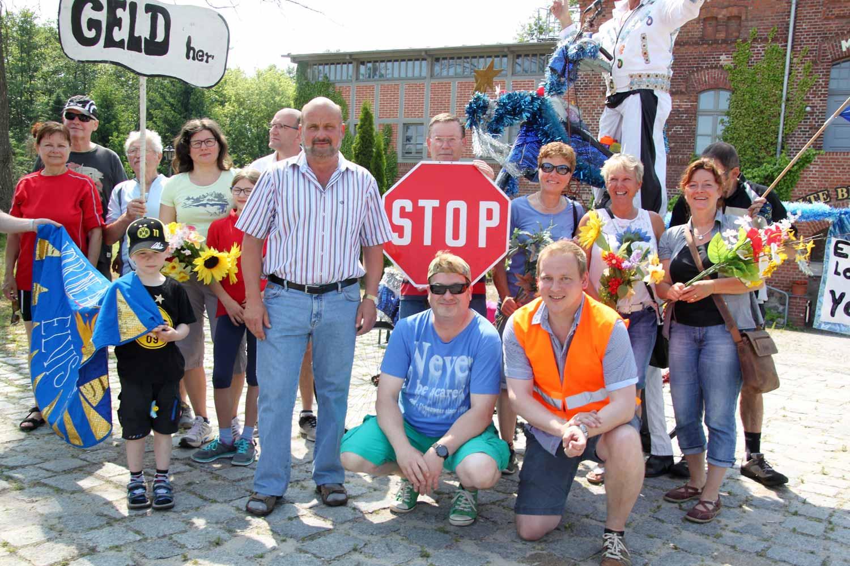 Radweg, Demo, Planebruch
