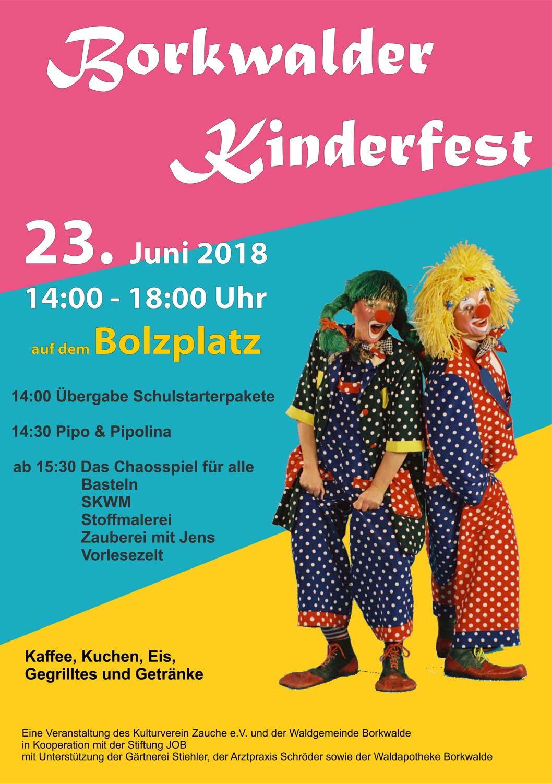 Kinderfest Borkwalde 2018