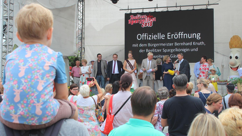 Beelitz, Beelitzer Spargelfest 2018, Spargel