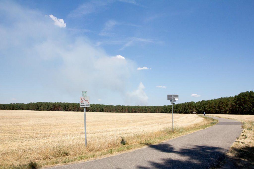Neuendorf, Waldbrand, Fichtenwalde, Feuerwehr