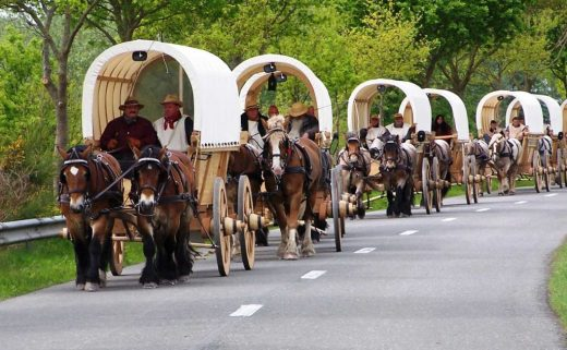 Titanen on Tour: Planwagentreck