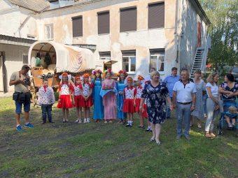 Begruessung in Kaliningrad