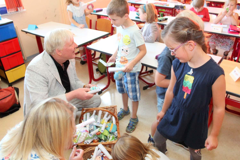 Einschulung, Grundschule-Beelitz, Fichtenwalde, Bürgermeister, Bernhard Knuth