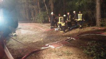 Feuerwehr, Klausdorf, Brand, Waldbrand, Treuenbrietzen, Jüterbog, FFW Gömnigk