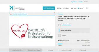 Petition Kreissitz