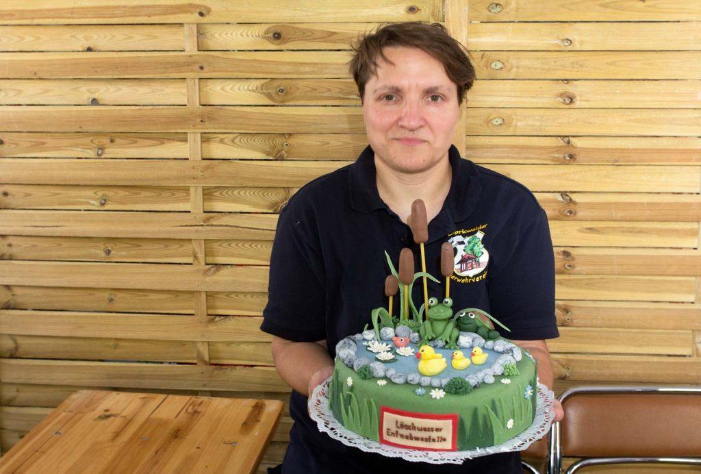 Die Torte von Bäcker Braune aus Potsdam