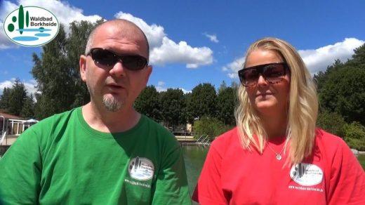 Waldbad Unsere Rettungsschwimmer