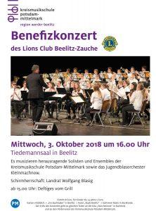 Lions Club Beelitz-Zauche: Musizieren für einen guten Zweck @ Tiedemann-Saal in Beelitz