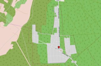 Borkwalde Karte