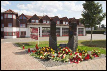Gedenkstelen Feuerwehr Lehnin