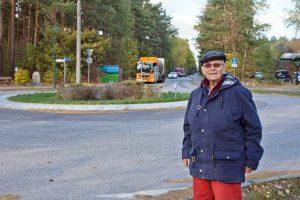 Heide Thilo-Hauser, Borkwalde, Kreisverkehr