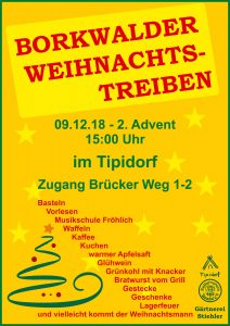 Borkwalder Weihnachtstreiben @ Tipidorf
