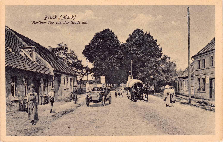 Postkarte, Brück