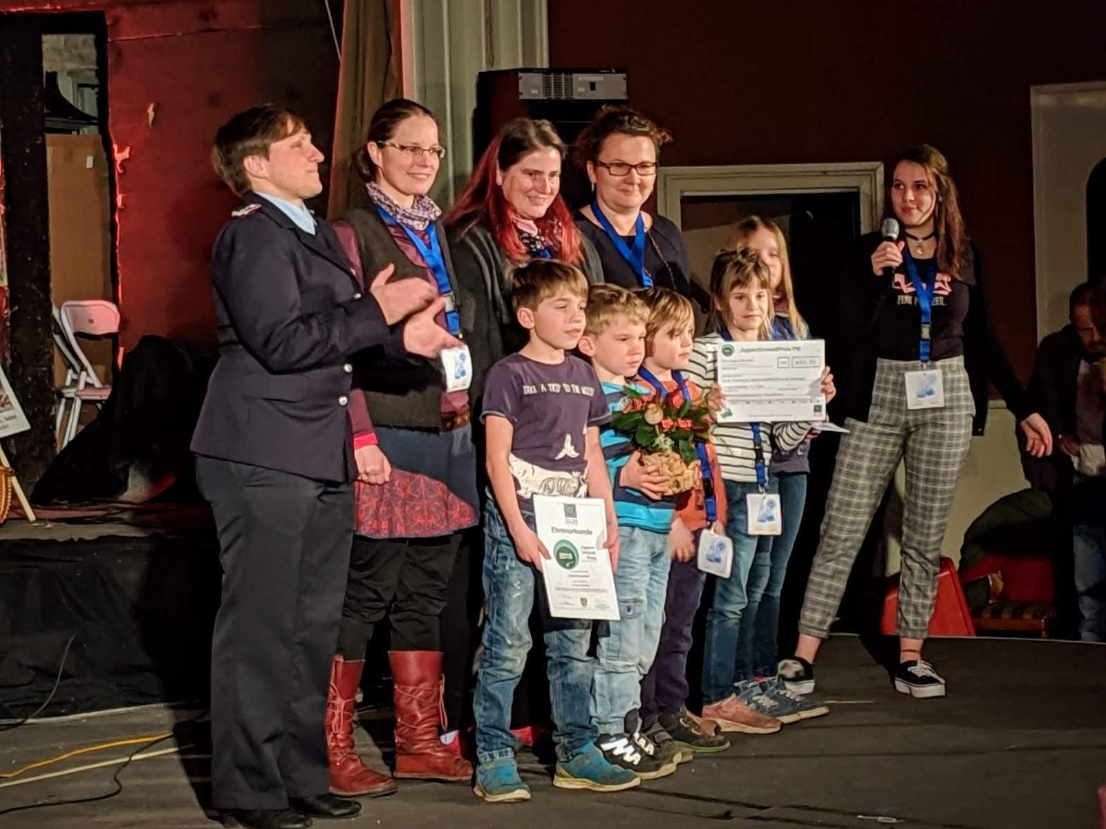Tipidorf, Jugendumweltpreis 2018, Potsdam-Mittelmark, Borkwalde