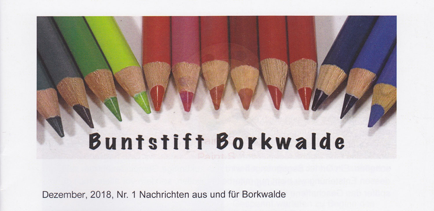 Buntstift-Borkwalde