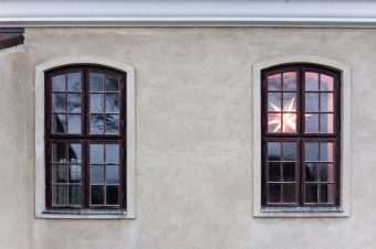 Herrenhuter Stern, Krielow, Kirche, Kirche Krielow