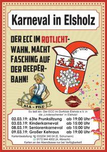 Karneval in Elsholz: 63te Prunksitzung @ Lindenschenke