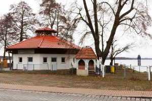 Strandbad Ferch, Pavillion