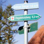 Deetzer Erdlöcher, Deetz, Groß Kreutz (Havel), Tongruben, Ziegeleirundweg