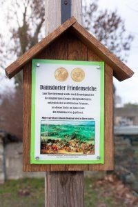 Spaziergang, Damsdorf, Friedenseiche