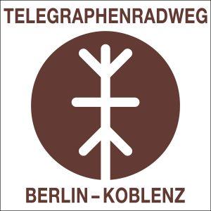 Telegraphenradweg, Logo