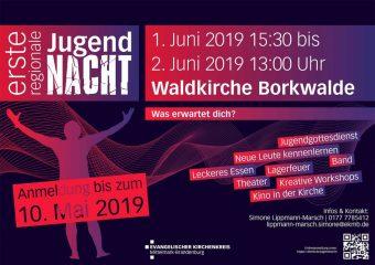 Jugendnacht, Borkwalde, Waldkirche
