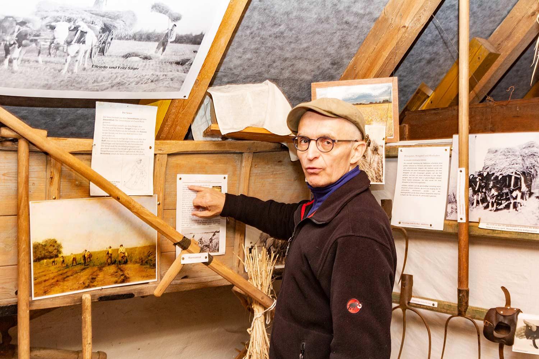 Norbert Fröhndrich, Büdner, Büdnermuseum, Oberjünne, Planebruch