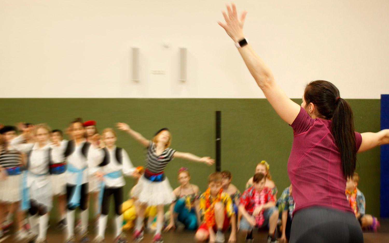 Tänze der Welt, Grundschule Fichtenwalde, Fichtenwalde, Kurrat Showdance