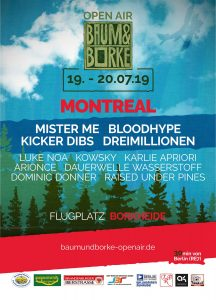 Baum & Borke 2019 @ Flugplatz in Borkheide