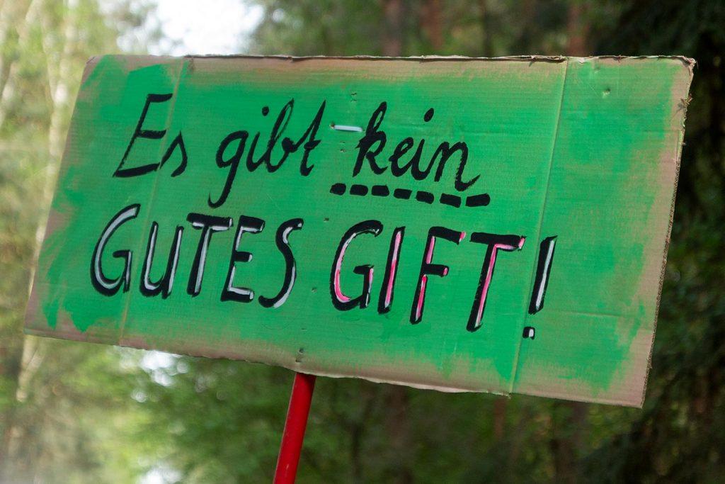 Fichtenwalde, Borkwalde, Borkheide, Karate Forst flüssig, Blauer Robur, Waldumbau