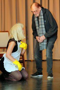 Herbert Köfer mit Anja Thiemann