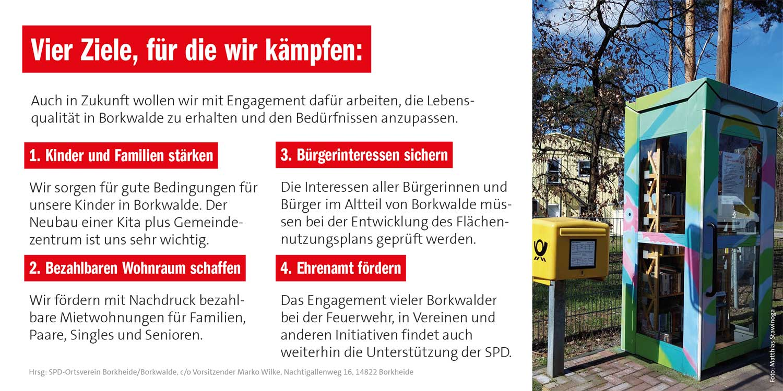 SPD Borkwalde, SPD, Borkwalde