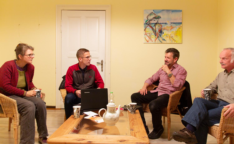 Philosophischer Gesprächskreis, Alte Brücker Post, Michael Zandtke, Brück