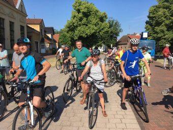 Radfahrer, Radfahren, Zauche, Brück, TZF