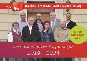 SPD, Groß Kreutz, Deetz, Kommunalwahlen 2019