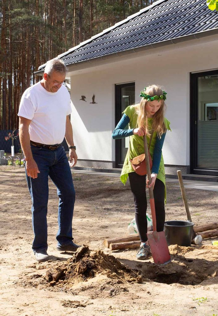 Baumprinzessin, Borkwalde