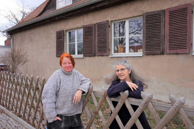 Anna Adam, Jalda Rebling, Wittbrietzen, Makom , Alte Schule