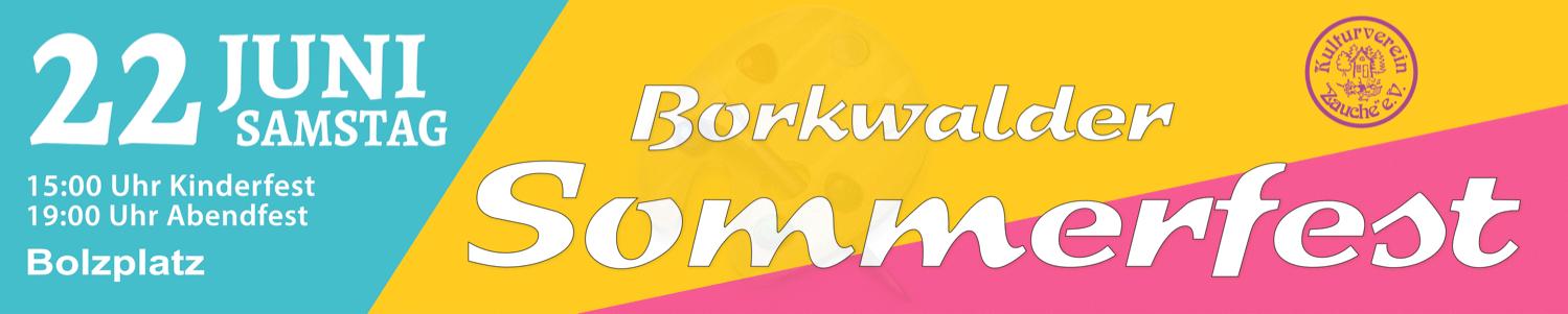 Borkwalde Sommerfest 2019