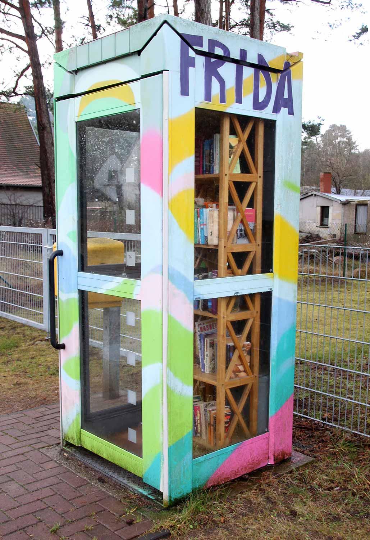 Bücherzelle, Borkwalde