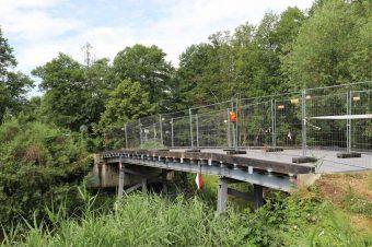 Netzen, Netzener Brücke, Emster