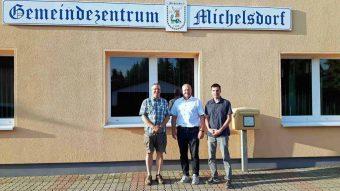 Ortsbeirat Michelsdorf, Michelsdorf, Kloster Lehnin, Steffen Dammann, Stephan Uphal, Adrian Schrepfer