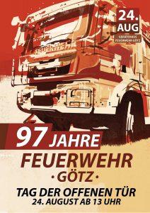 97 Jahre Feuerwehr Götz - Tag der offenen Tür @ Gerätehaus der Feuerwehr Götz