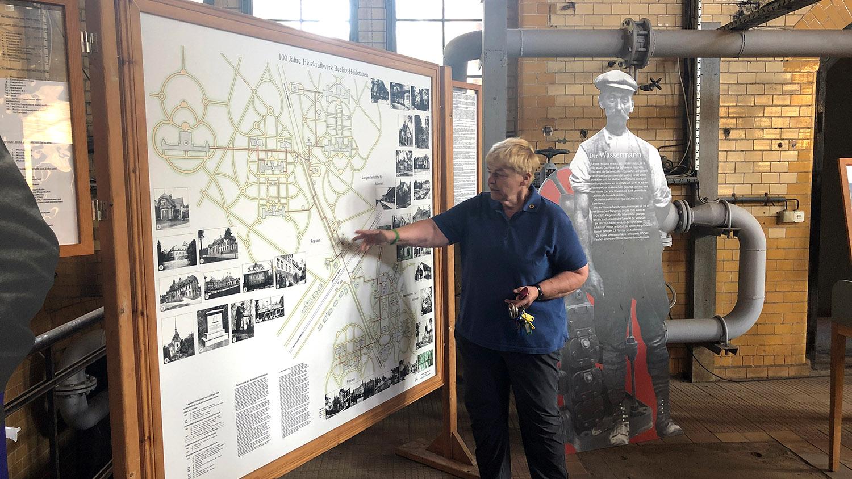 Im BHKW Beelitz-Heilstätten, Dr. Elke Seidel